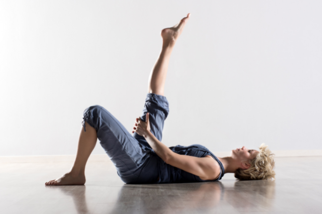 hamstring stretch exercise helps lower back pain